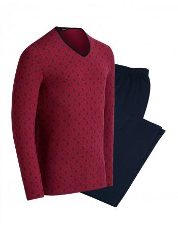 Pijama M/L-Cotton/Modal-Ardennes-Impetus- Hombre