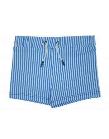 Boxer Niño-Blue Stripes-Rayas Azul-Waterlemon