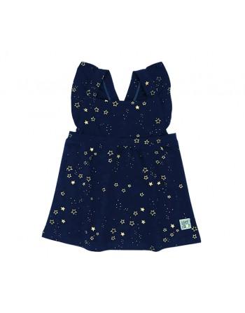 Vestido Niña-Glitter Stars-Estrellas-Waterlemon