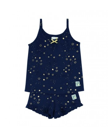 Conjunto Niña-Glitter Stars-Estrellas-Waterlemon