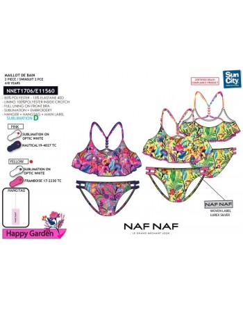 Bikini Top Niña- Jardín- Naf Naf