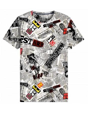 Camiseta M/C News-John Frank - Hombre