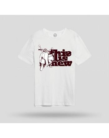 Camiseta M/C Ride Vespa-John Frank- Hombre