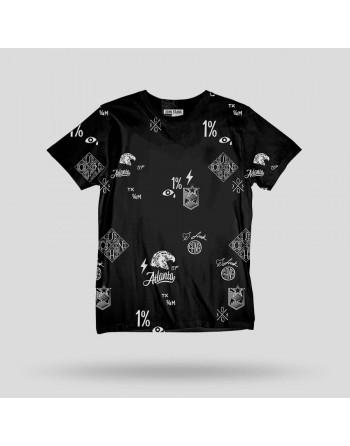Camiseta M/C Atlanta-John Frank- Hombre