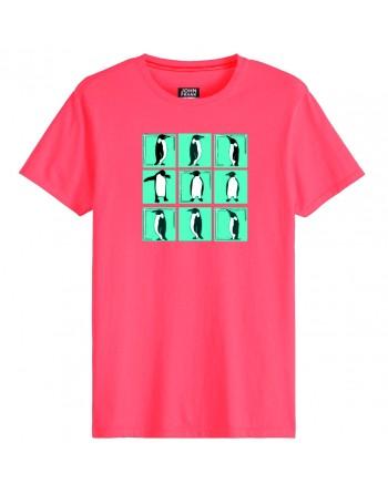 Camiseta M/C-Pinguino-John...