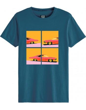 Camiseta M/C-Coches-John Frank