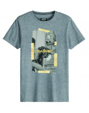 Camiseta M/C-Imagen-John...