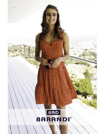Vestido S/M-Nimes-Topos...