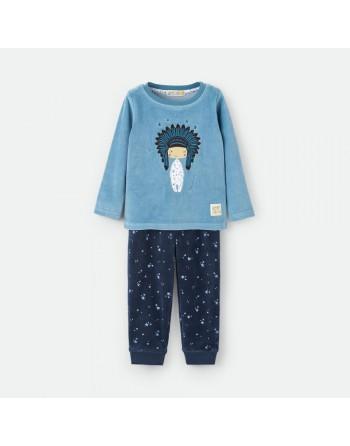 Pijama Niño-Velour-Waterlemon