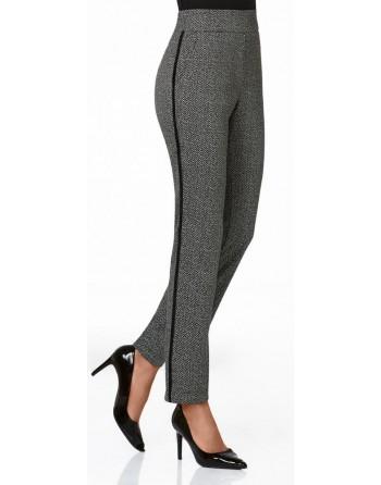 Legging-Billo Bolsillo-Cuivre-Janira-mujer-gris