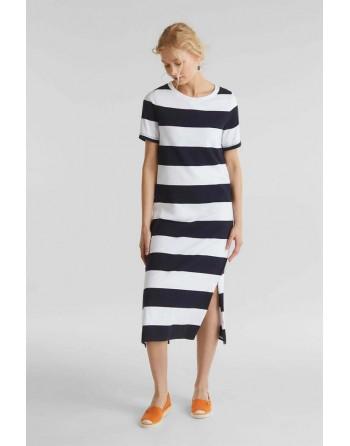 Vestido M/C-Largo-Rayas-Esprit