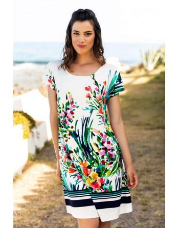 Vestido- Viscosa-Jardín-...