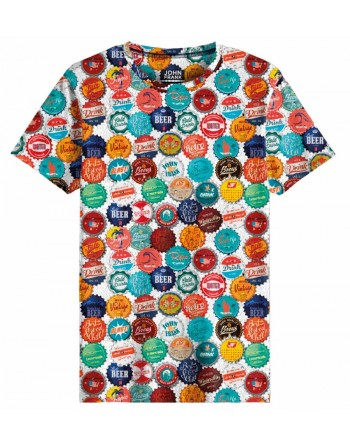 Camiseta M/C -Beer Cap...